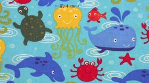 U.S.A.コットン 海の生物